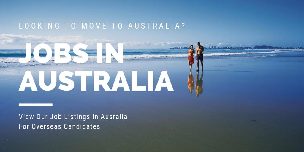 Jobs In Australia - Get Sponsored To Work In Australia