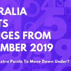 Australia-Points-Calculator-Changes-November-2019