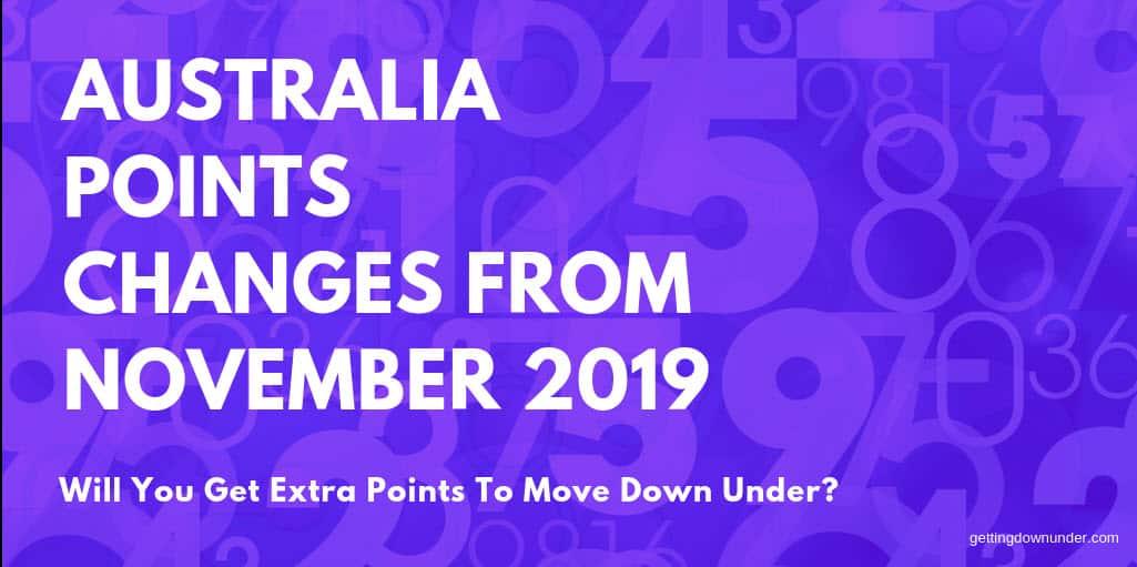 Australia-Points-Calculator-Changes-November-2019
