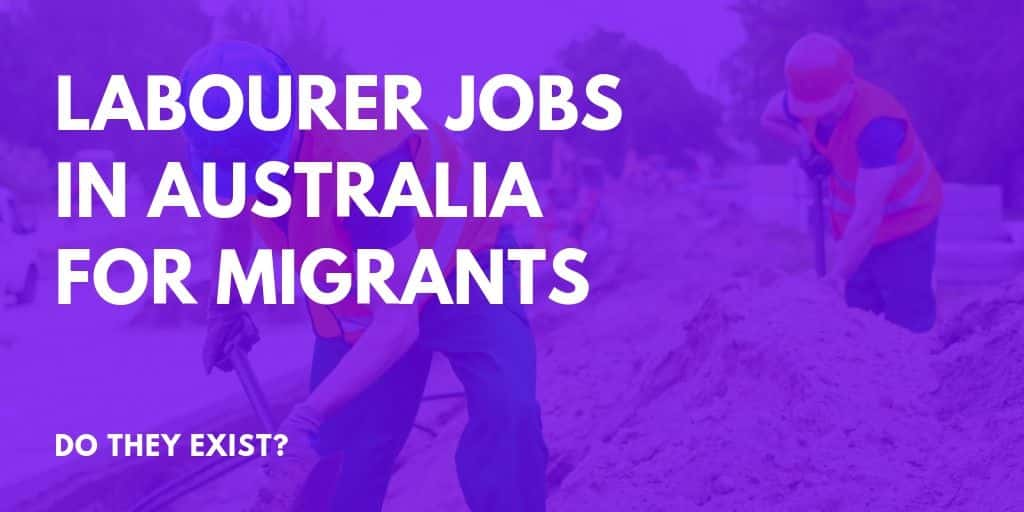 Labourer jobs in Australia