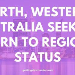 Perth Wa Seeking Regional Australia Statu