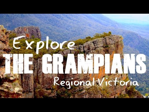 Explore The Grampians In Regional Victoria | Grampians Peaks Trail - The Big Bus
