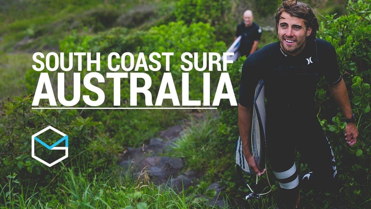 Surfing The South Coast Of Australia - Travel Vlog Ep1