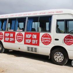 Barossa Explorer, a Hop On Hop Off Bus in South Australia's Wine Region