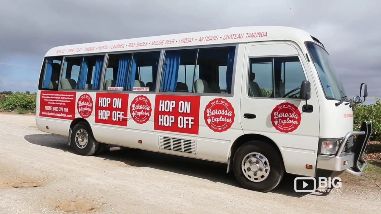 Barossa Explorer, a Hop On Hop Off Bus in South Australia's Wine Region