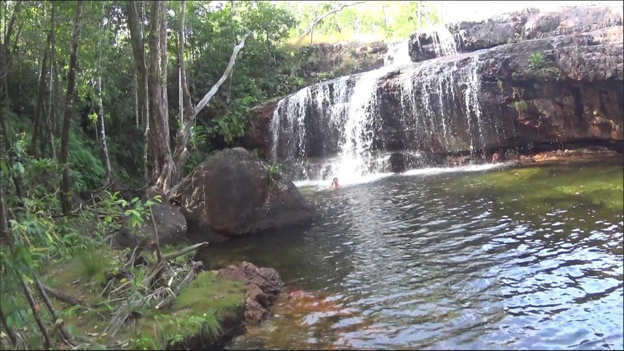 Lower Cascades, Waterfall Swimming, Litchfield National Park Northern Territory Australia, Tourist.