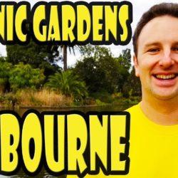 Royal Botanic Gardens Victoria In Melbourne Australia