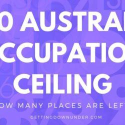2020 Australian occupation ceiling