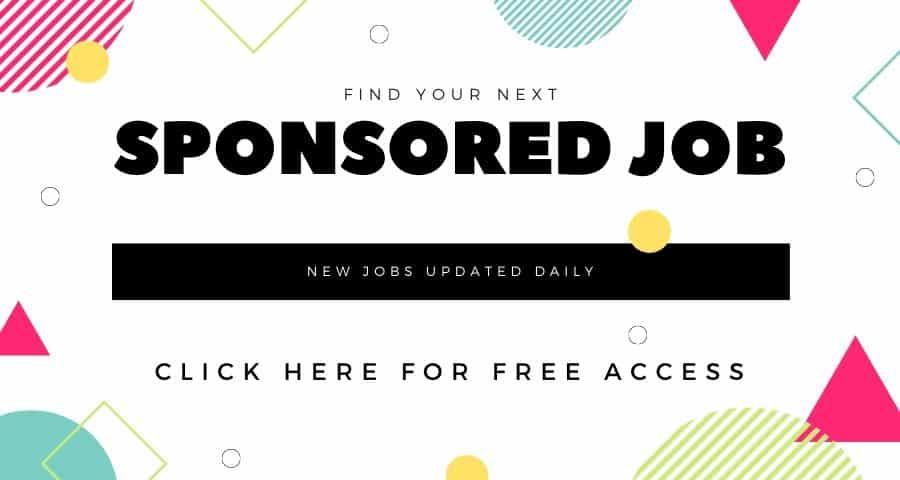 find sponsored Jobs In Australia