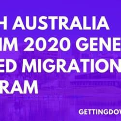 South Australia Interim 2020 General Skilled Migration Program