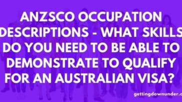 Anzsco Job Descriptons