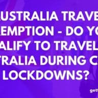 Australia Travel Exemption - Would You Qualify?