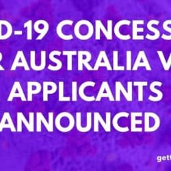 COVID-19 Concessions For Australia Visa applicants Announced