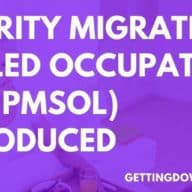 Priority Migration Skilled Occupation List (PMSOL) Introduced