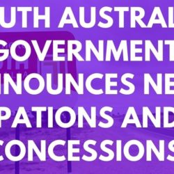 South Australia Governments New DAMA Occupations and Visa Concessions