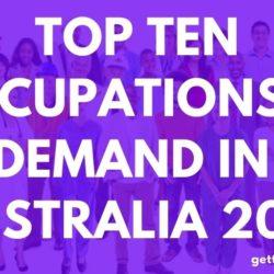 Top Ten Occupations In Demand In Australia 2021