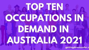 Top Ten Occupations In Demand In Australia 2021