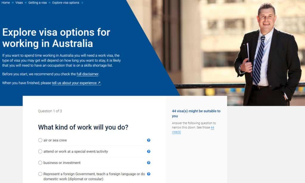 Australia permanent visa for workers