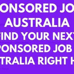 Sponsored Jobs In Australia Jobs Listings