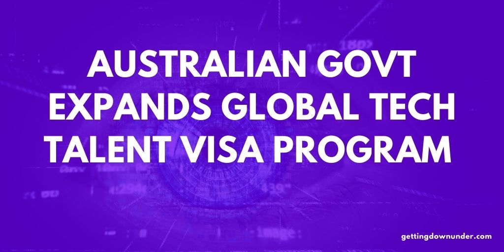 Australian Govt Expands Global Tech Talent Visa Program