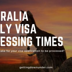 Australia Family Visa Processing Times