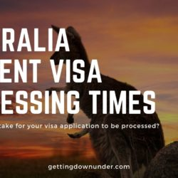 Australia Student Visa Processing Times