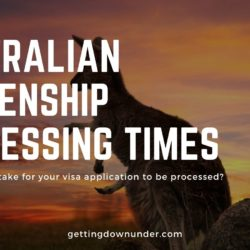 Australian Citizenship Application Processing Times
