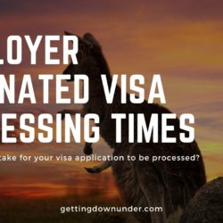 Employer Nominated Visa Processing Times